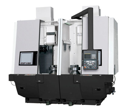 OKUMA V80-2SP – 2 Spindle Vertical Lathe